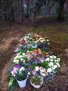 bloemen natuurbegraafplaats